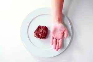 PN palm with meat