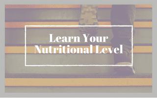 Learn Your Nutritional Level